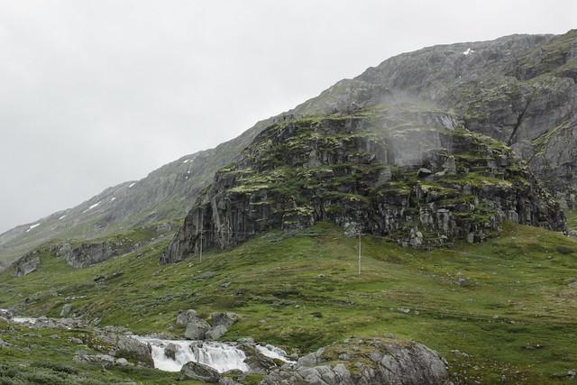 1700 meters höjd och 8 grader varmt mitt i sommaren