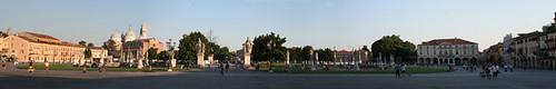 Panorámica de Prato della Valle, en Padua
