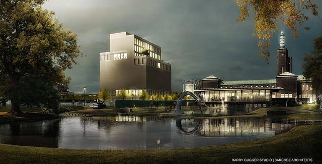 Collectiegebouw Boijmans - HGS BARCODE
