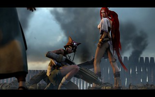 Heavenly Sword Feature Film, 02