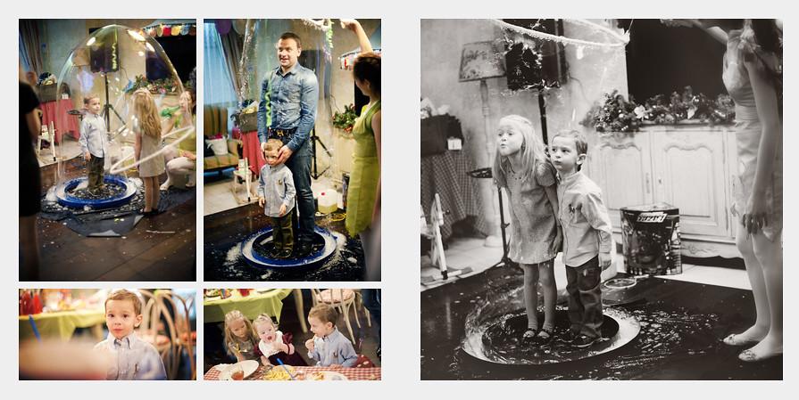 Егоркин День Рождения в семейном кафе Андерсон. Фотограф Ирина Марьенко.