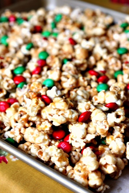 sea salt caramel corn