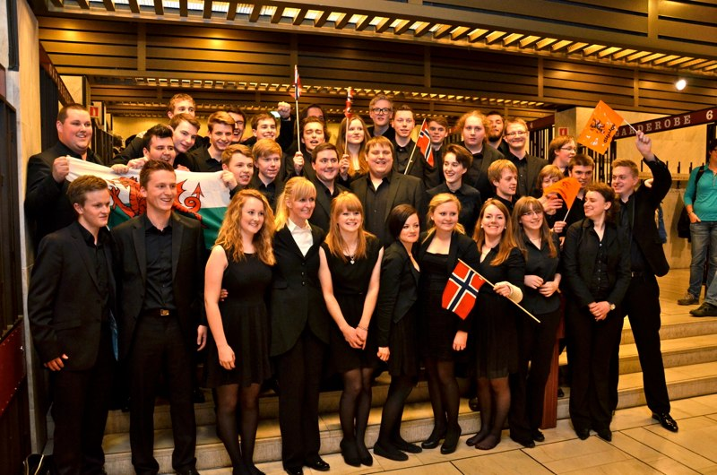 EM 2013 - EYBB, European Youth Brass Band (foto. Olof Forsberg)