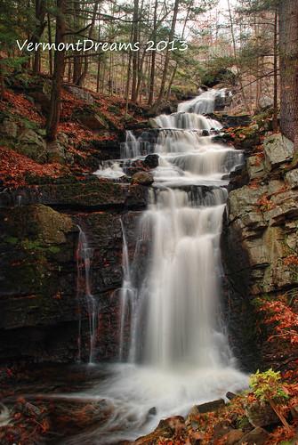 ny newyork waterfall saratogasprings falls waterfalls saratogacounty snookkill vermontdreams fallsonsnookkill