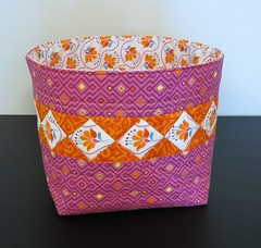 Fabric Basket - Round 2