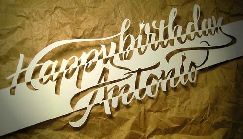 Happy Birthday Antonio Elena Pellicoro Flickr