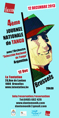 Journee Nationale de Tango: 12 Dec 2013