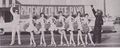 Phoenix College 1960: Pom Pom Girls