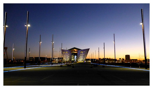 The Titanic slipway