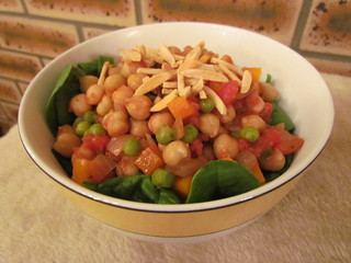 Moroccan Chickpeas with Couscous