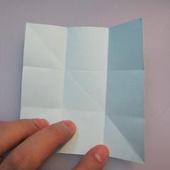 การพับกระดาษรูปดาวกระจาย (Star Origami – スターの折り紙) 001