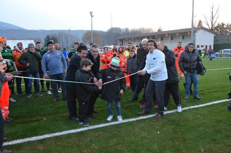 Meta! L'inaugurazione del comitato Anpas Abruzzo e del campo under 12 de L'Aquila Rugby