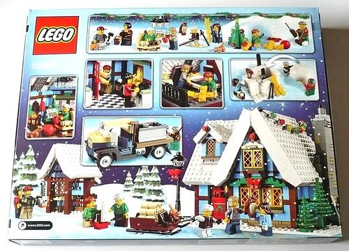 LEGO 10229 Winter Village Cottage box02