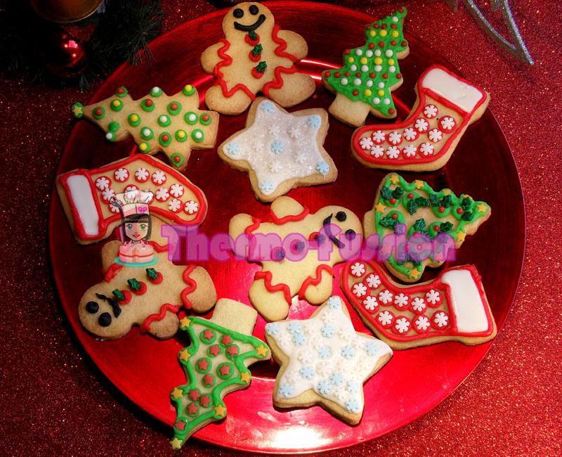 Imagenes De Galletas De Navidad Decoradas.Galletas De Mantequilla Decoradas Navidad Y Galletas De