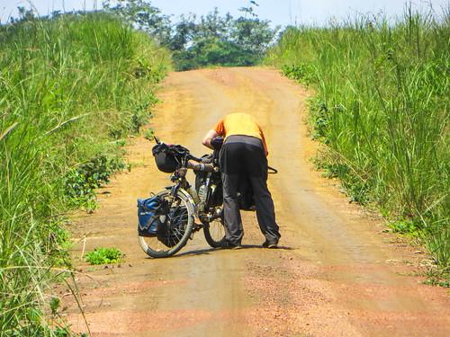 Gabon-Congo border