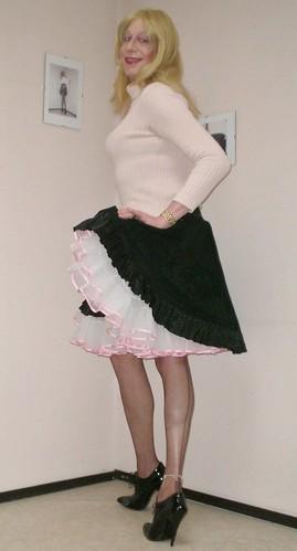 Skirt And Petticoat