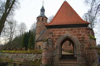 Kirche Mariä Himmelfahrt in Labach, 19.1.14
