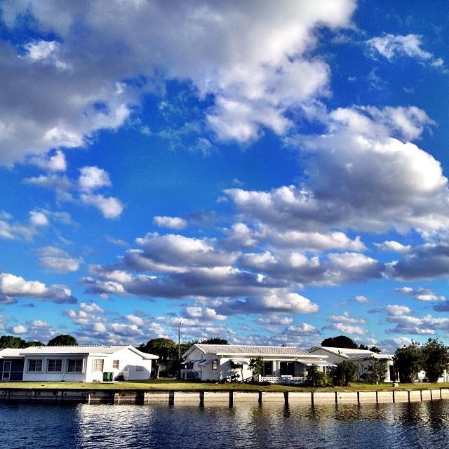 Pretty Florida skies.