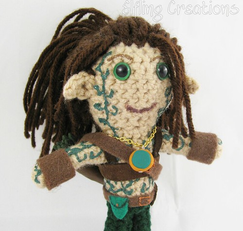 Meren D&D Plushie (Wood Elf)