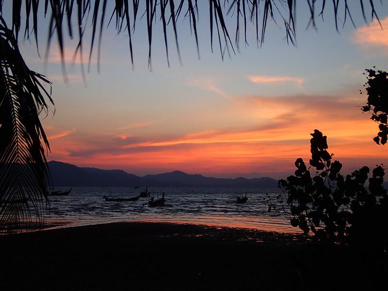 Sunset on Koh Yao Yai