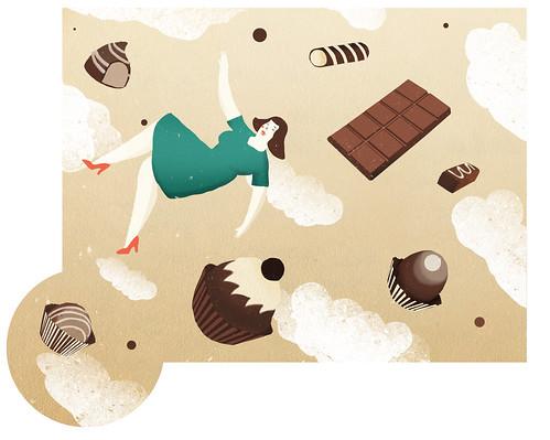 Chocolate PAradise by la casa a pois