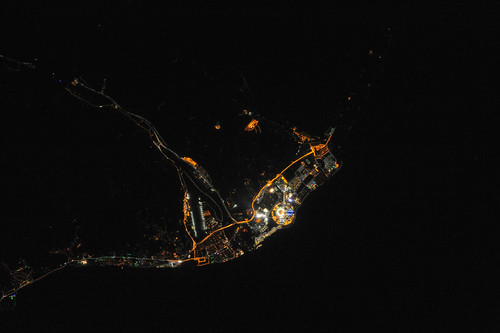 Night View of Sochi During Olympics