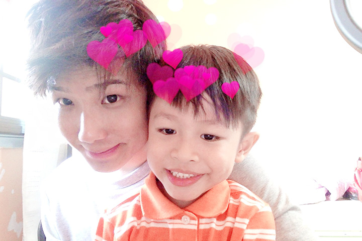 Photo Booth with lucas