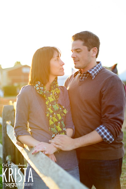 Marini Farm Corn Maze Autumn Engagement Session