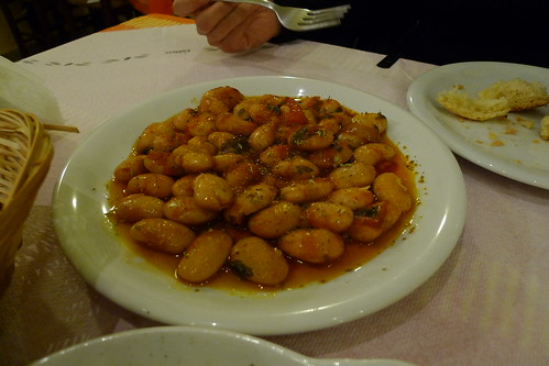 Yigandes Plaki: Baked Beans & Tomato Casserole for Clean Monday - Restaurant Helene - Ancient Olympia, Greece