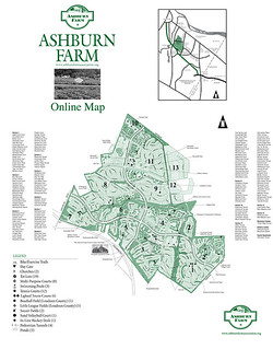 Map of Ashburn Farm Community
