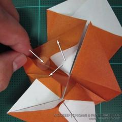 วิธีพับกระดาษเป็นรูปหมี (Origami Bear) 015