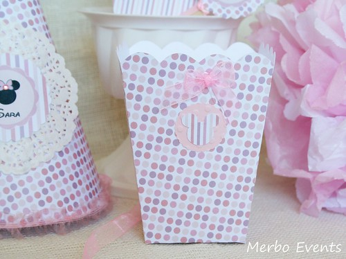 Pop con Kit imprimible minnie Mouse Merbo Events