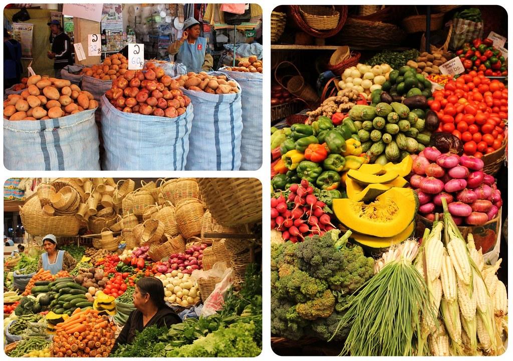 Sucre Bolivia Market