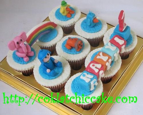 Cupcake set pocoyo