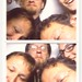 Gigaom team crams into the Dear Mom photo booth by misterbisson