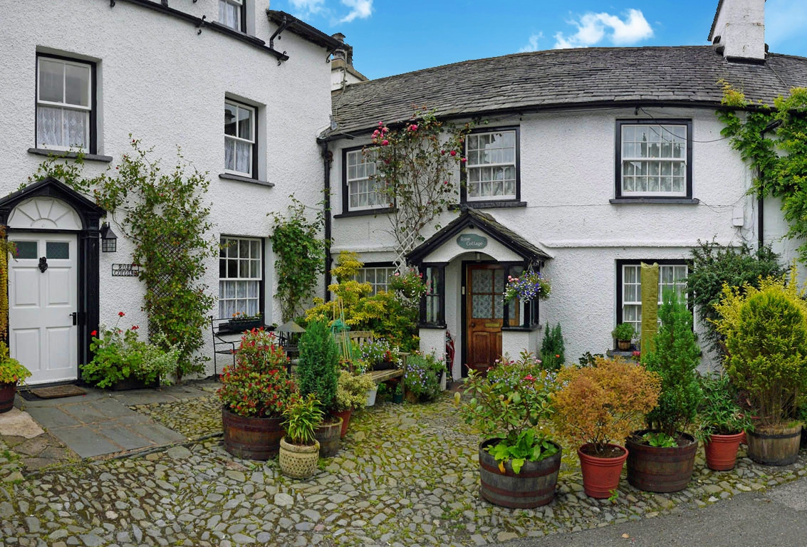 Rose Cottage, Hawkshead, The Lake District. Credit SwaloPhoto