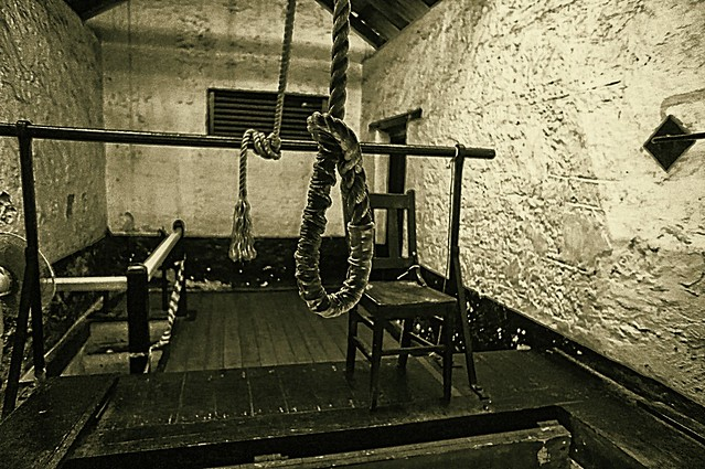 Hangman's Noose. Execution Chamber. Fremantle Prison. Western Australia