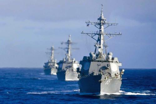 U S  Navy, Japan Maritime Self-Defense Force begin MultiSail