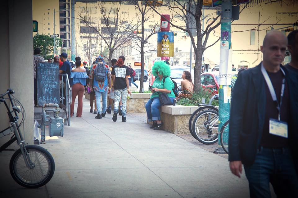 st.Patricks day at SXSW