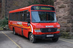 Bowers Coaches Mercedes 432 V332EAK - Buxton