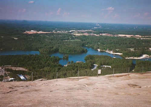 atlanta atl georgia ga 1987 stone mountain park