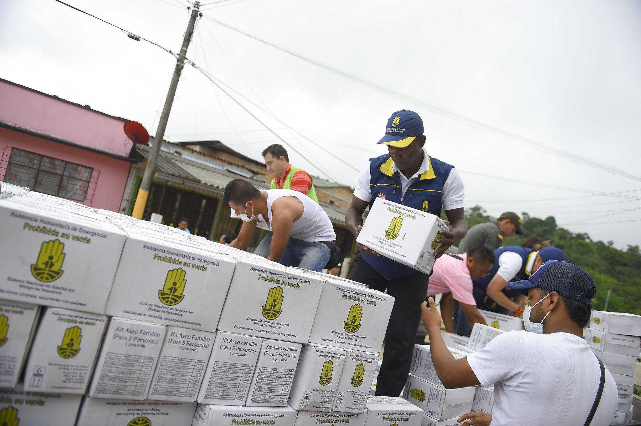 Entrega de Asistencia humanitaria de emergencia