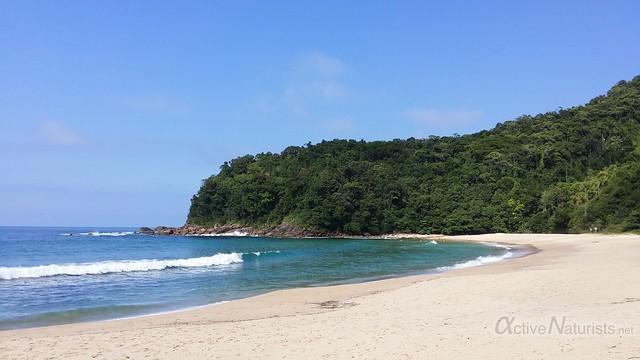 naturist beach 0004 praia Brava de Trinidade, Rio de Janeiro, Brasil
