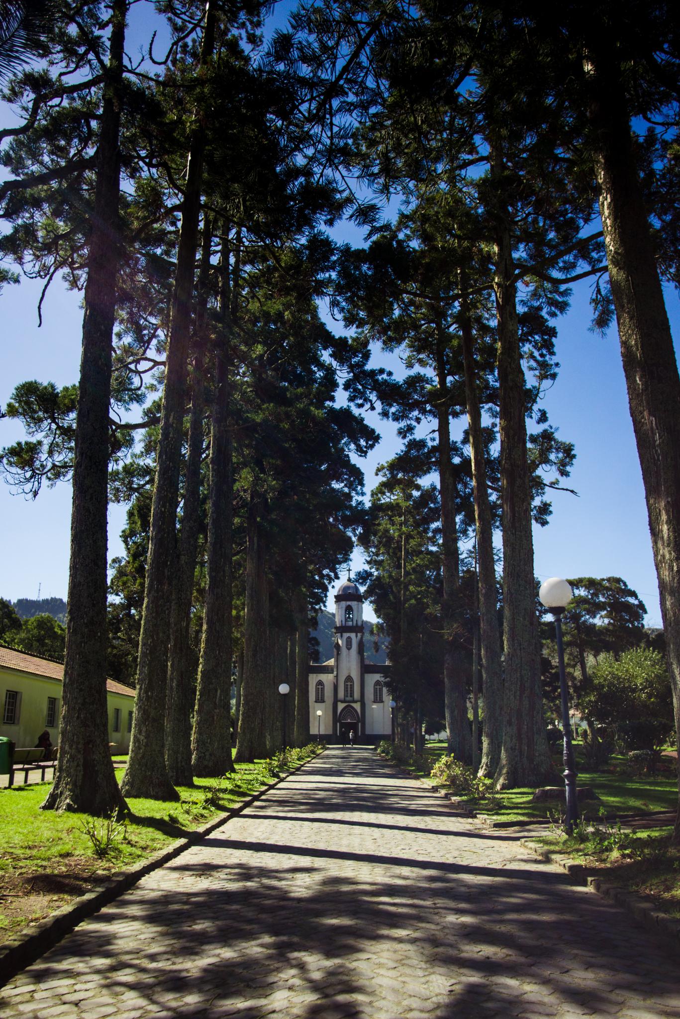 Sete Cidades temploma. Fotó: Dobó Diána