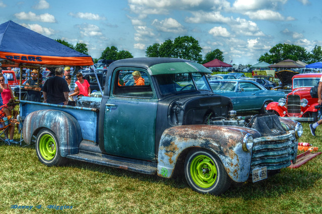 The 2016 Meltdown Drags & Car Show.  Byron, Illinois.  bcs26