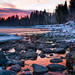 First Light on the Flathead by ebhenders