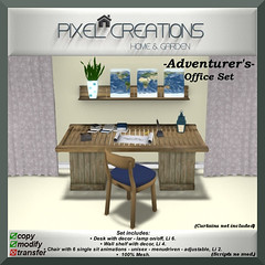 [PC] PIXEL CREATIONS - ADVENTURERS OFFICE SET