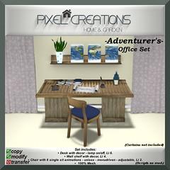 [PC] PIXEL CREATIONS - ADVENTURERS OFFICE SET