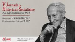 V Jornadas de Historia del Socialismo