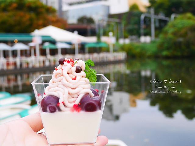 日本東京自由行賞櫻canal cafe水上餐廳 (8)